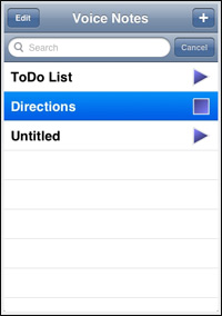 voicenotes-iphone-application